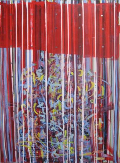 becoming, lascaux acrylics, 2008