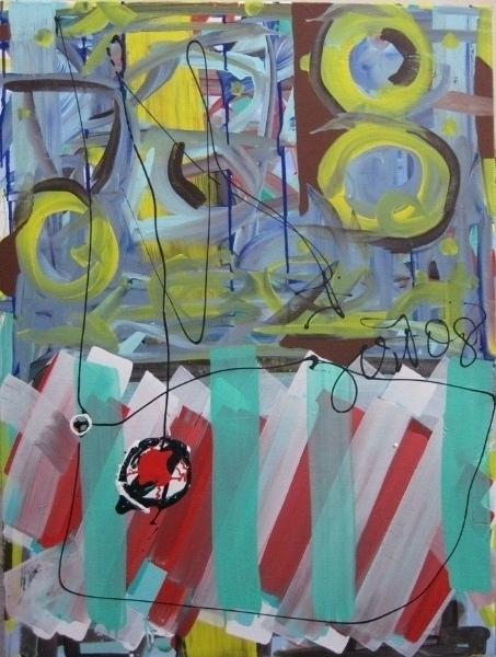 kalichakra 2, lascaux acrylics, 2008