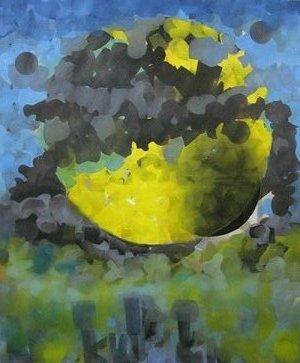 mandala, oils, 2010
