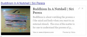 buddhism in a nutshell web