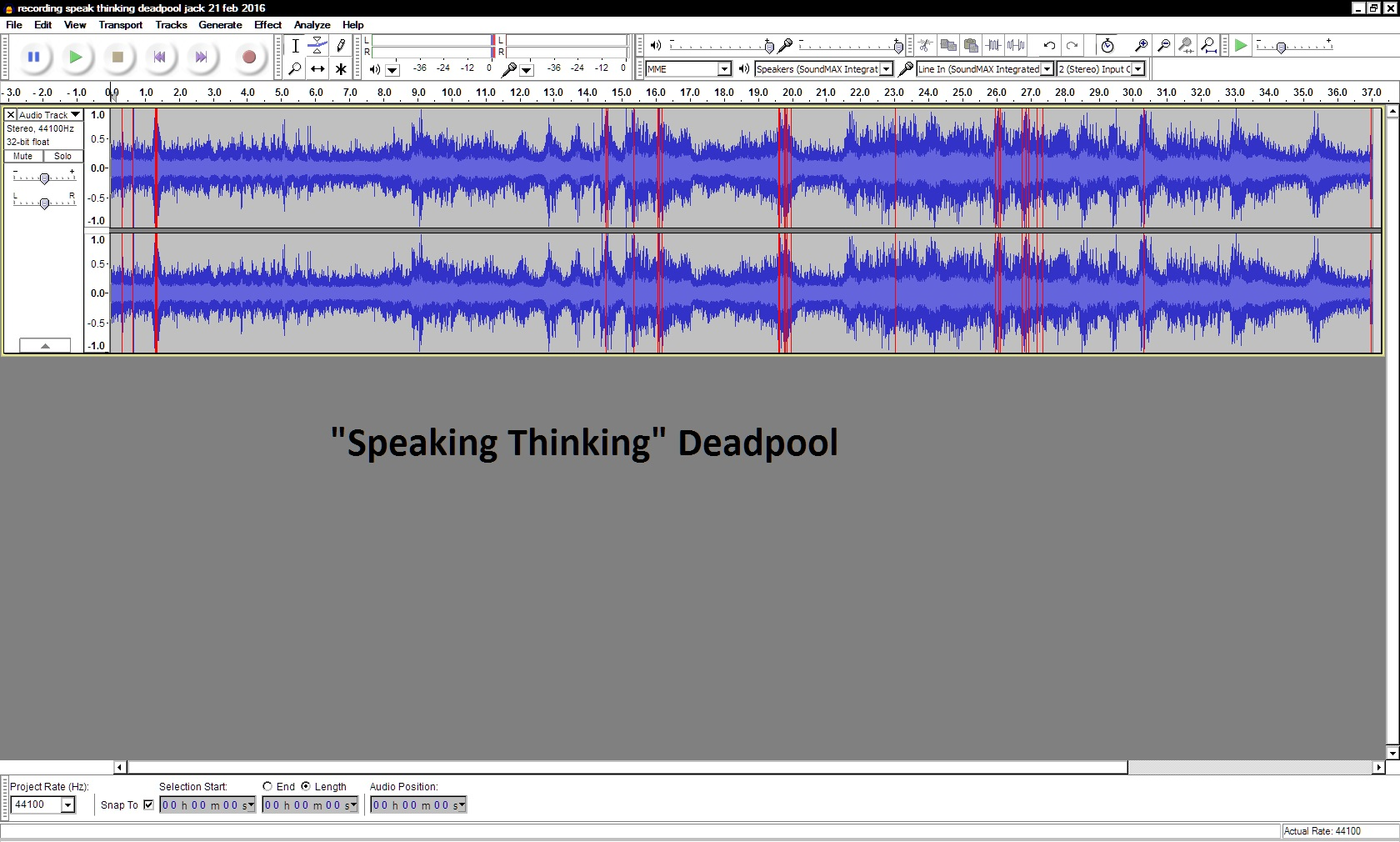 recording speak thinking deadpool jack 21 feb 2016