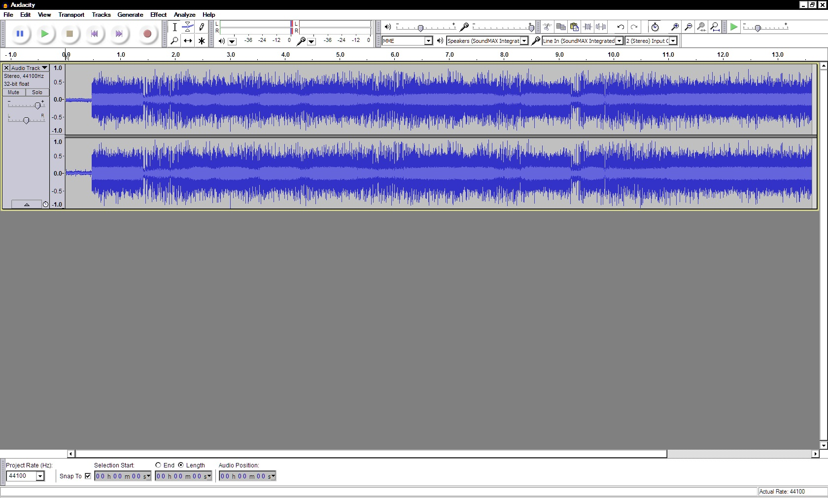 recording SDR audacity with pmr transmit 3 april 2016