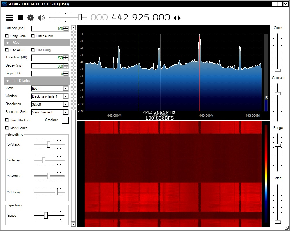recording SDR with pmr transmit 3 april 2016