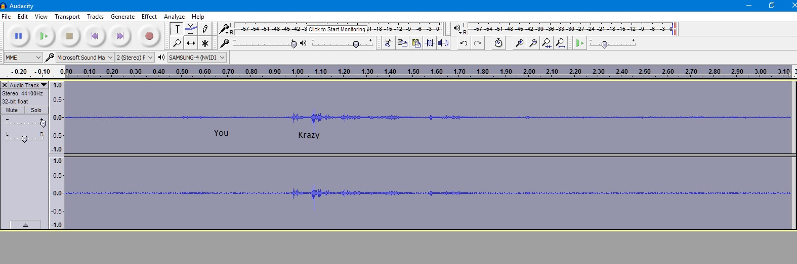 recording Krazy web 5 july 2016